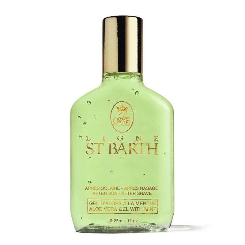 Ligne St.Barth Gel aloe vera alla menta 25 ml 8,50€ Cosmetica e cura del corpo