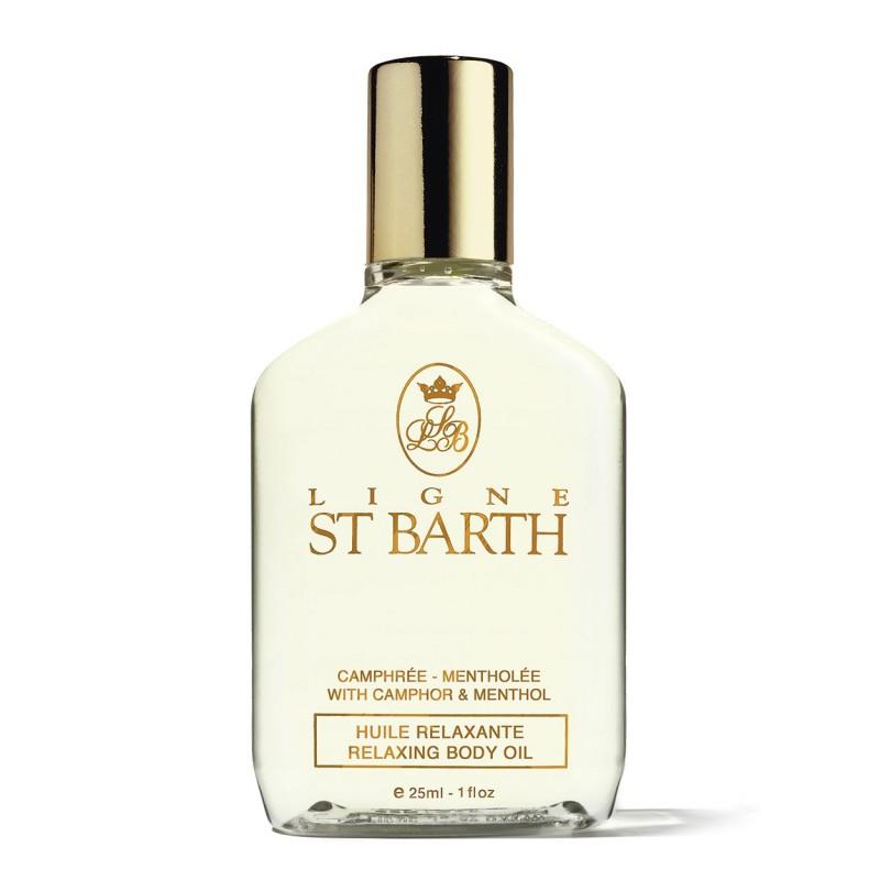 Ligne St.Barth Olio massaggi rilassante alla canfora e mentolo 25 ml 9,50€ Cosmetica e cura del corpo
