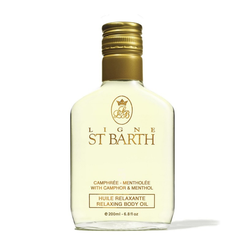 Ligne St.Barth Olio massaggi rilassante alla canfora e mentolo 200 ml 60,00€ Cosmetica e cura del corpo