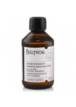 Bullfrog Doccia shampoo secret potion 1 multifunzione 250 ml 18,00€ Barberia