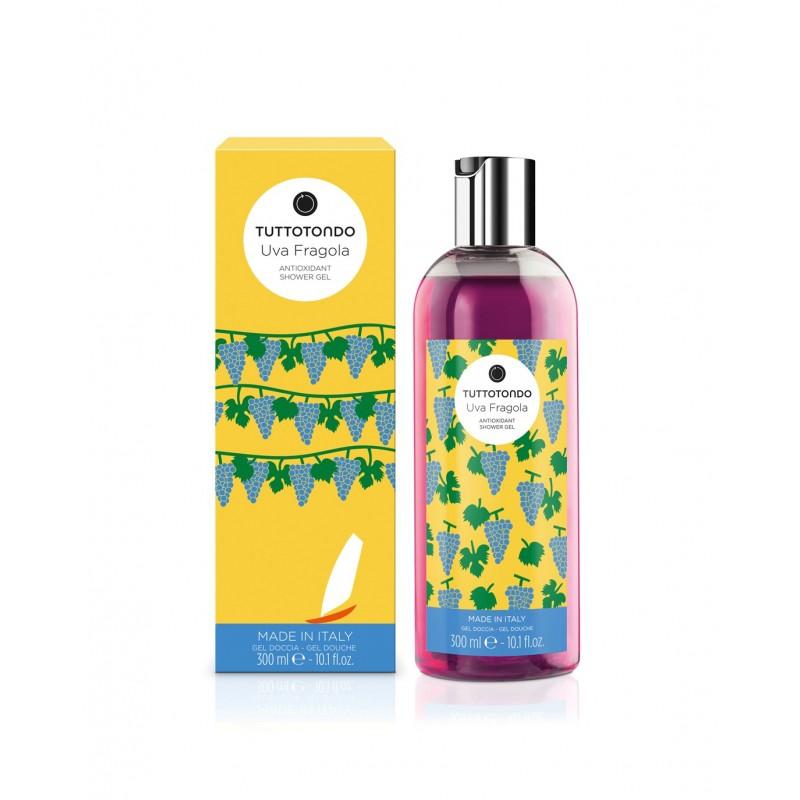 Tuttotondo Gel doccia antiossidante uva fragola 300 ml 16,00€ Cosmetica