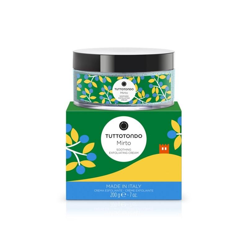 Tuttotondo Crema esfoliante lenitiva mirto 200 gr 26,00€ Cosmetica