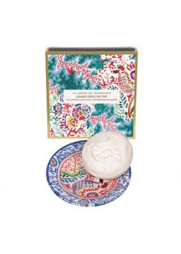 Fragonard Jasmine perle de the sapone con portasapone 19,00€ Cosmetica e cura del corpo