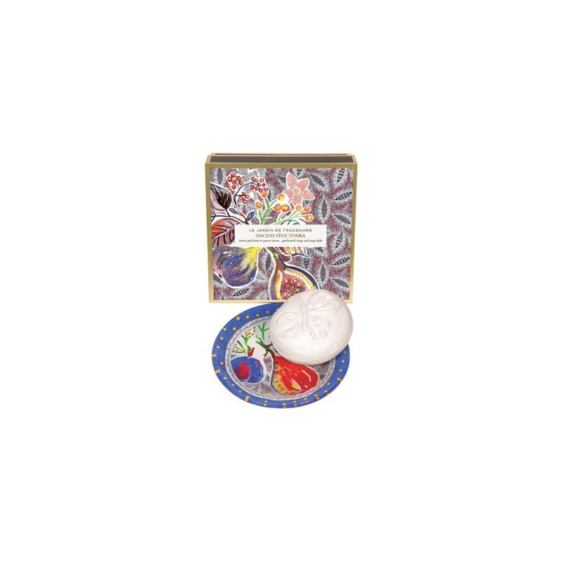 Fragonard Encens feve tonka sapone con portasapone 19,00€ Cosmetica e cura del corpo