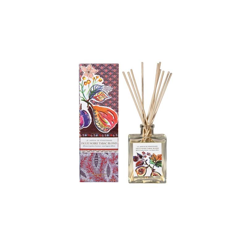 Fragonard Figue noire tabac blond diffusore ambiente con bastoncini 35,00€ Ambiente