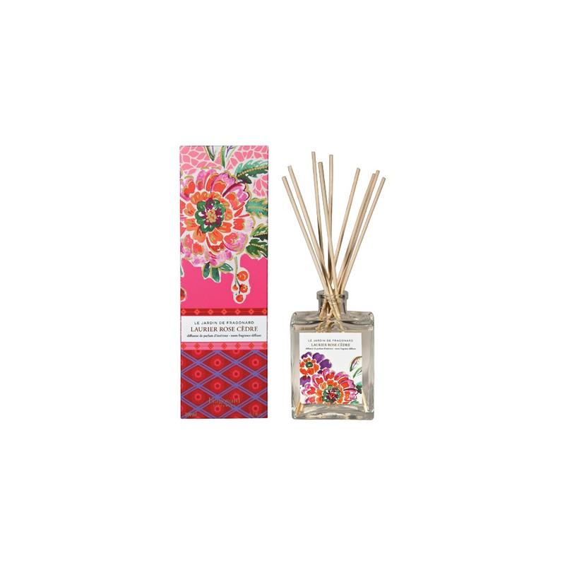 Fragonard Laurier rose cèdre diffusore ambiente con bastoncini 35,00€ Ambiente