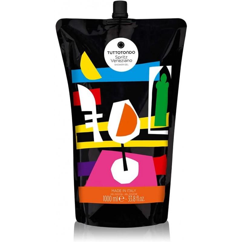 Tuttotondo Gel doccia spritz veneziano ricarica da 1 lt 45,00€ Cosmetica e cura del corpo