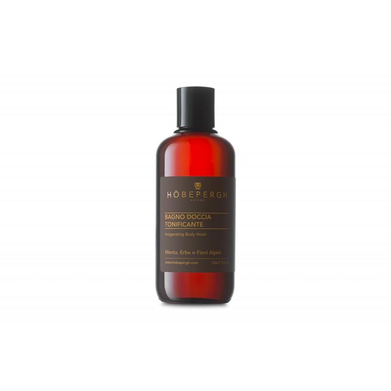 Höbepergh Bagno doccia tonificante menta, erbe, fieni alpini 250 ml 22,00€ Cosmetica e cura del corpo