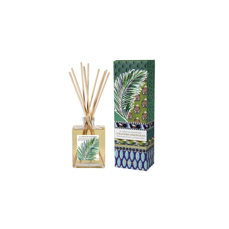 Fragonard Coriandre lemongrass diffusore ambiente con bastoncini 35,00€ Ambiente