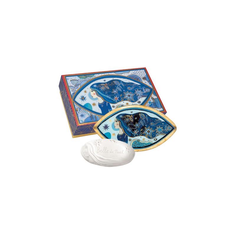 Fragonard Belle de nuit sapone + portasapone 23,00€ Cosmetica e cura del corpo