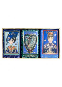 Fragonard Cofanetto 3 saponi- Belle Cherie-Amour Toujours-Beau Chéri 24,00€ Cosmetica e cura del corpo