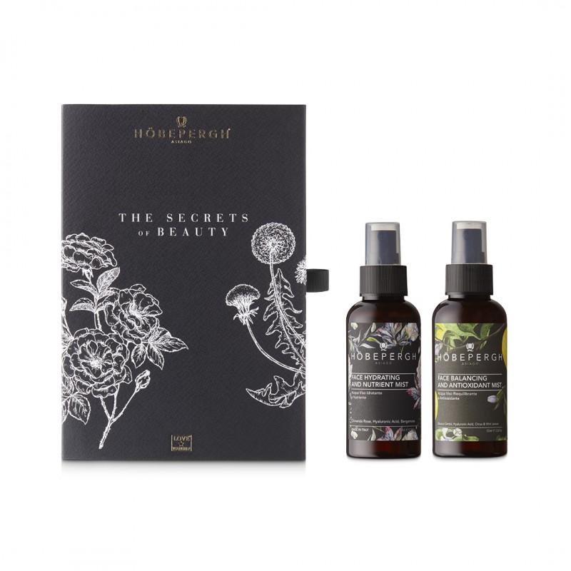 Höbepergh Cofanetto acqua viso idratante-nutriente + antiossidante-riequilibrante 77,00€ Cosmetica e cura del corpo